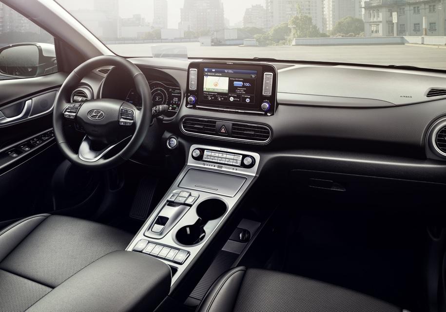 Hyundai официально представила электрический кроссовер Kona Electric