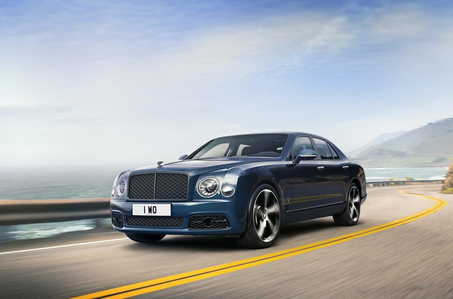 В Bentley прокомментировали отказ от модели Mulsanne