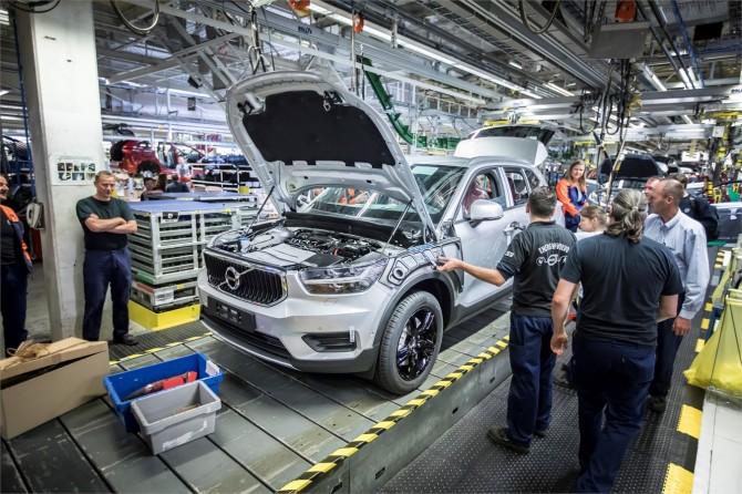 В Бельгии началось производство кроссовера Volvo XC40