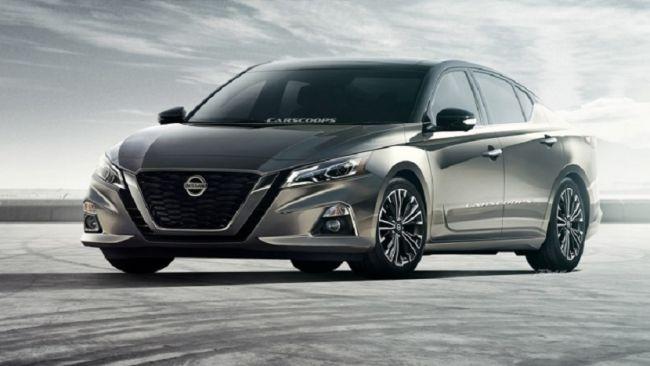 Первый рендер нового седана Nissan Altima показали дизайнеры