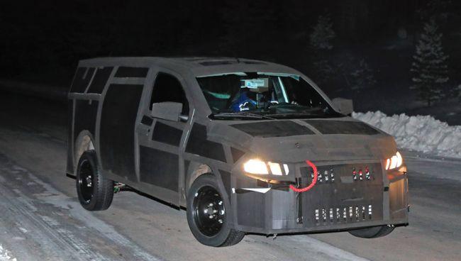 Новый пикап от Fiat продолжают тестировать в плотном камуфляже