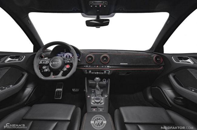 Ателье Neidfaktor «прокачало» салон «заряженного» Audi RS3