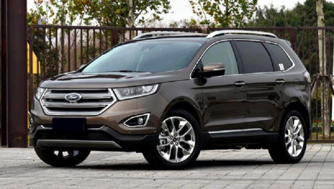 Стартовали продажи внедорожника Ford Edge 2018 модельного года