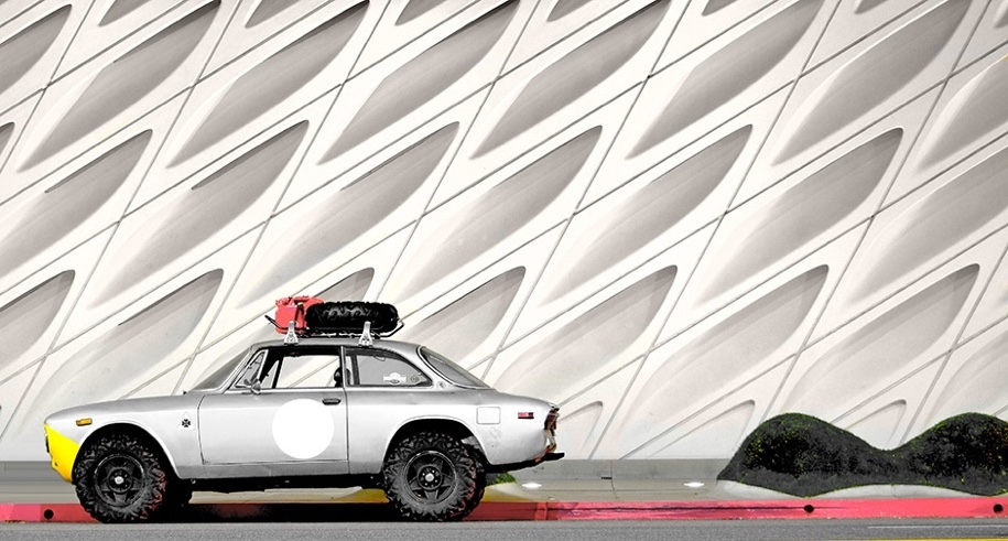 Уникальный Alfa Romeo 2000 «GTV» получил внедорожную версию