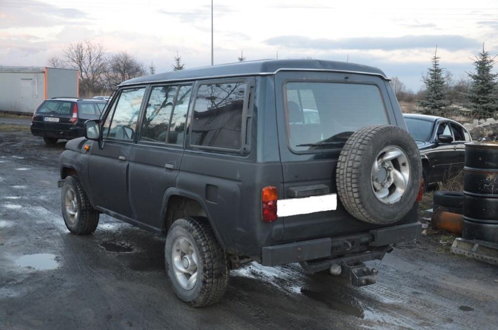 """В Польше продают внедорожник Hyundai Galloper с """"передком"""" от УАЗ"""