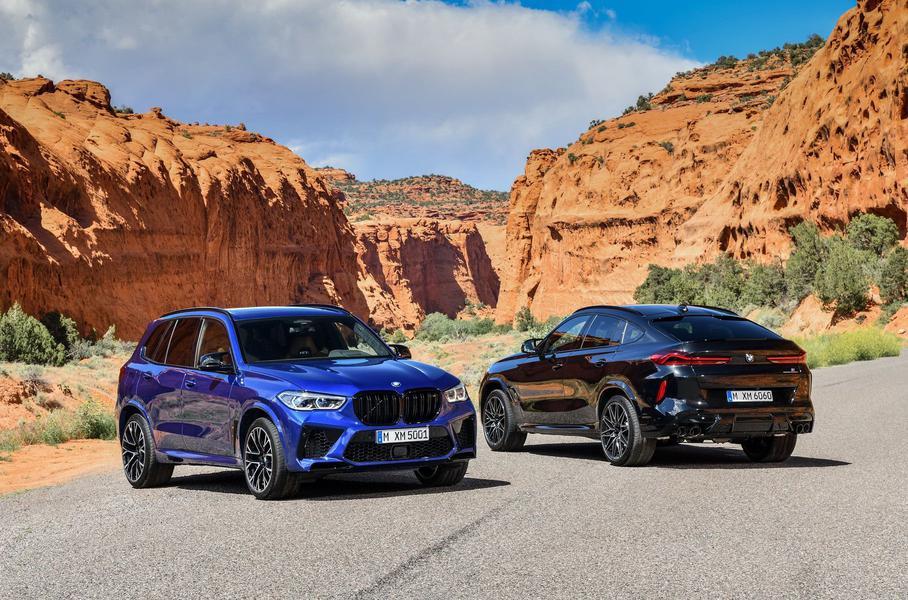 В России начались продажи новых кроссоверов BMW X6