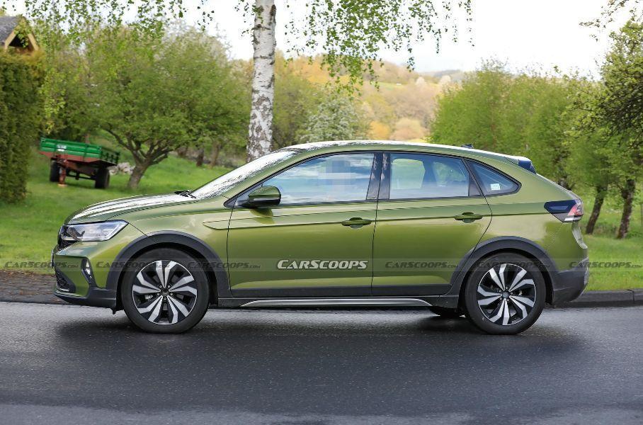 Компания Volkswagen вывела на тесты новое кросс-купе Taigo для Европы