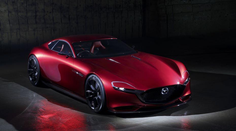 Mazda в 2109 году выпустит спорткар с гибридным роторным мотором