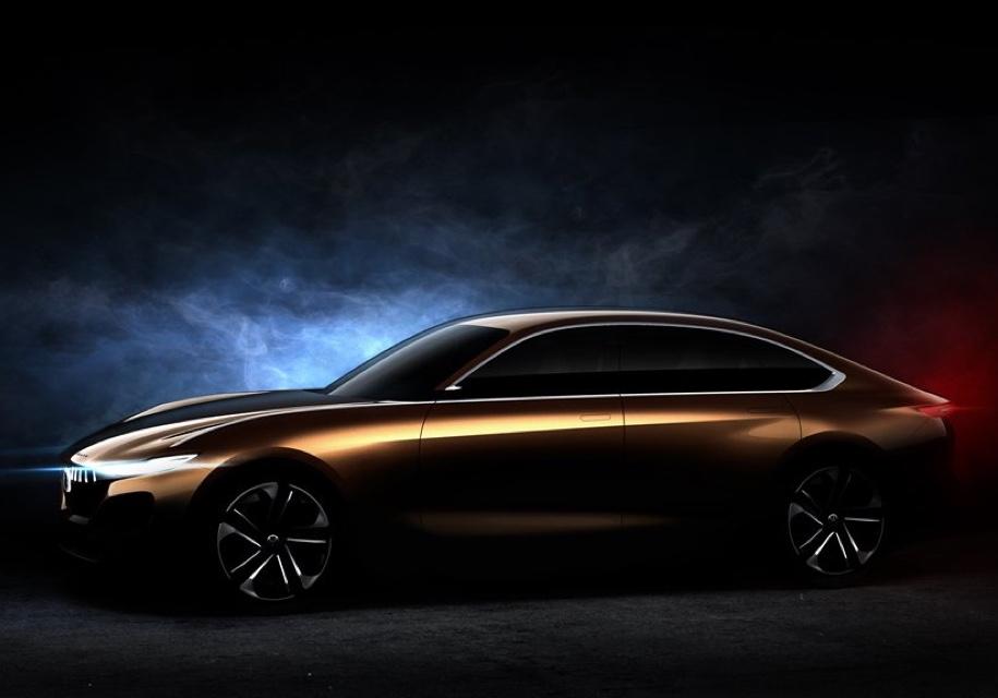 Pininfarina в Пекине покажет электрический седан H500 с запасом хода 1 000 км