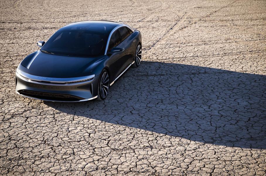 Lucid Motors представила серийный электромобиль Lucid Air