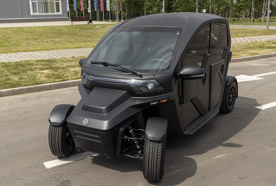«Калашников» показал новое поколение электромобиля «Овум»