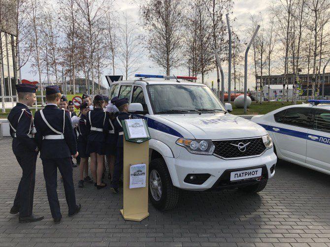 УАЗ выпустил новую спецверсию «Патриота» для нужд ДПС