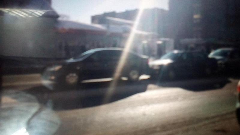 Тройное столкновение в Вологде устроила автоледи на иномарке