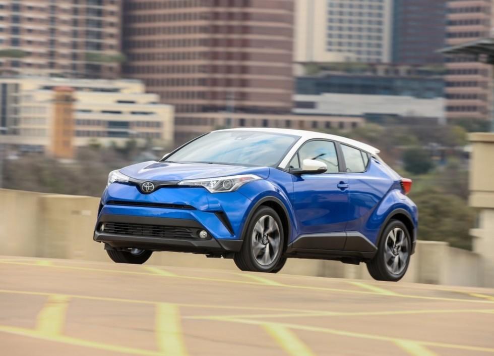Toyota сделает электрическую версию кроссовера Toyota C-HR