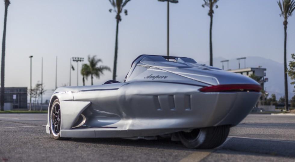 В Лос-Анджелесе представили трехколесный родстер Ampere 1