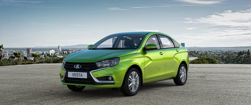 Продажи автомобилей Lada в Европе за сентябрь выросли на четверть