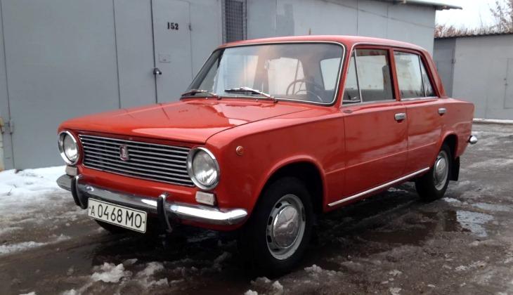 Простоявшую 35 лет в гараже «Копейку» выставили на продажу за 1,5 млн руб