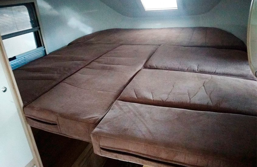 Lada Granta превратили в самый дешевый дом на колесах