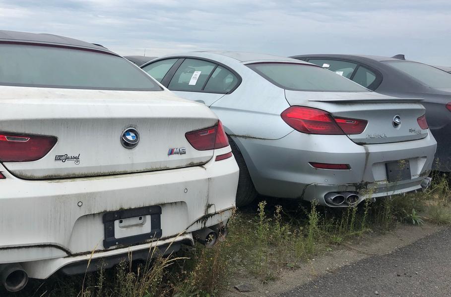В Канаде 3 000 новых BMW и MINI уже 4 года ждут утилизации