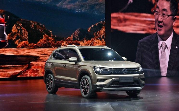 Новый кроссовер Volkswagen Tharu приедет в Россию в 2020 году