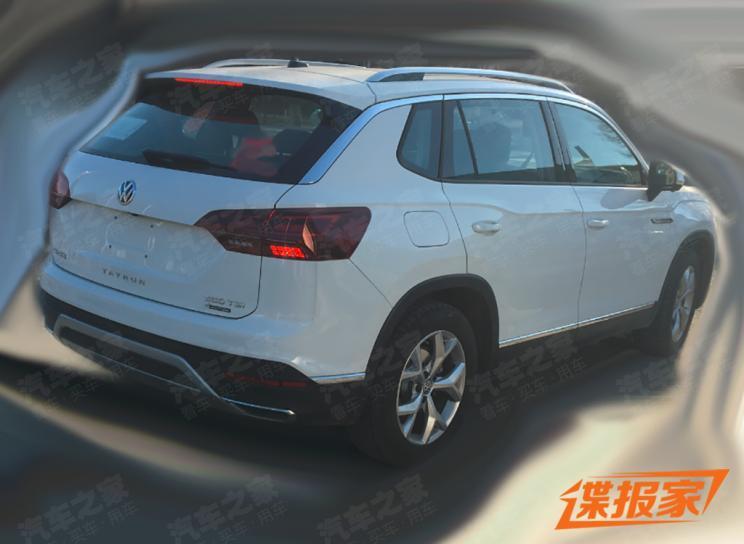 Обновленный кроссовер Volkswagen Tayron раскрыли до премьеры