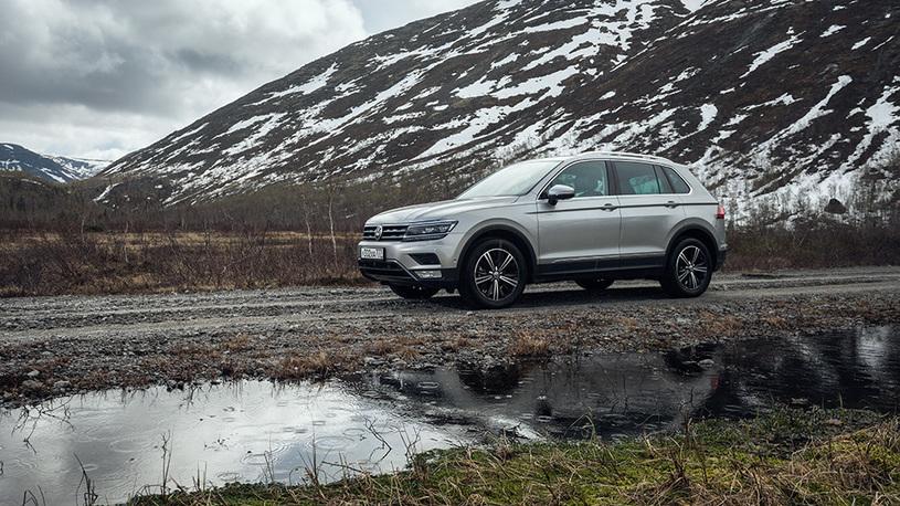 Volkswagen Tiguan получил в России версию Tiguan All Inclusive