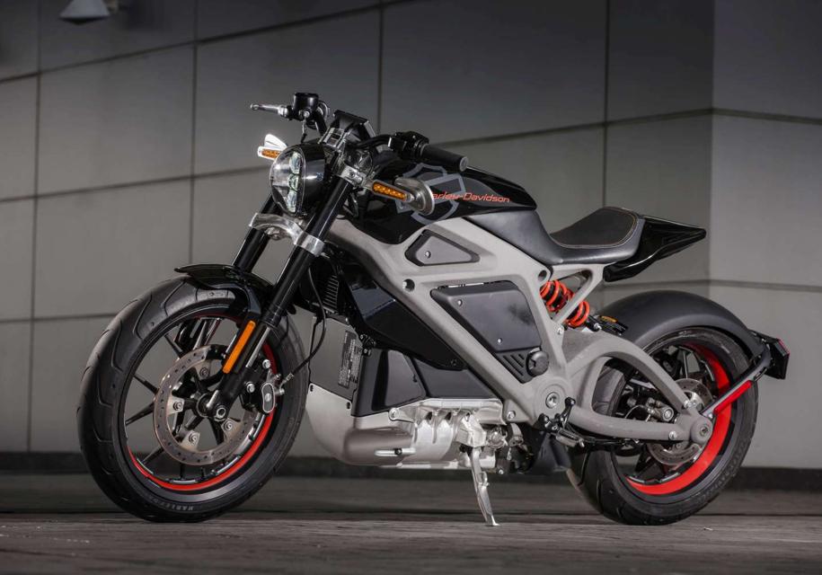 Harley-Davidson выпустит электрический байк уже в 2019 году