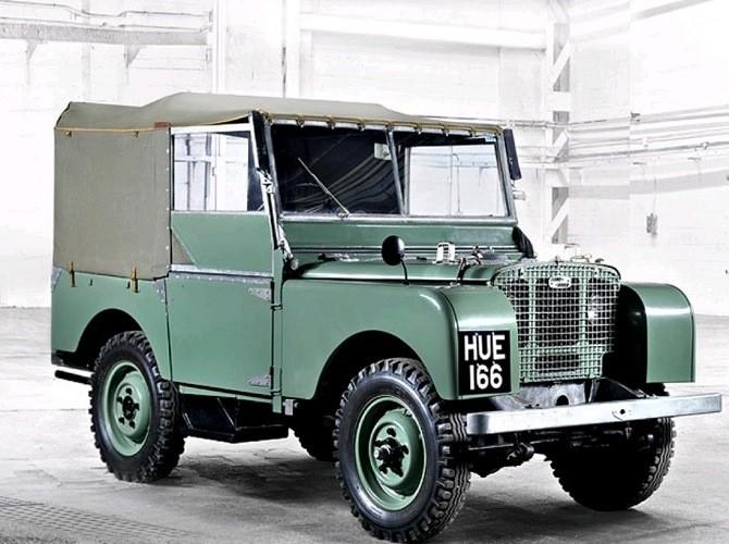 Британская автокомпания Land Rover празднует свой 70-летний юбилей class=