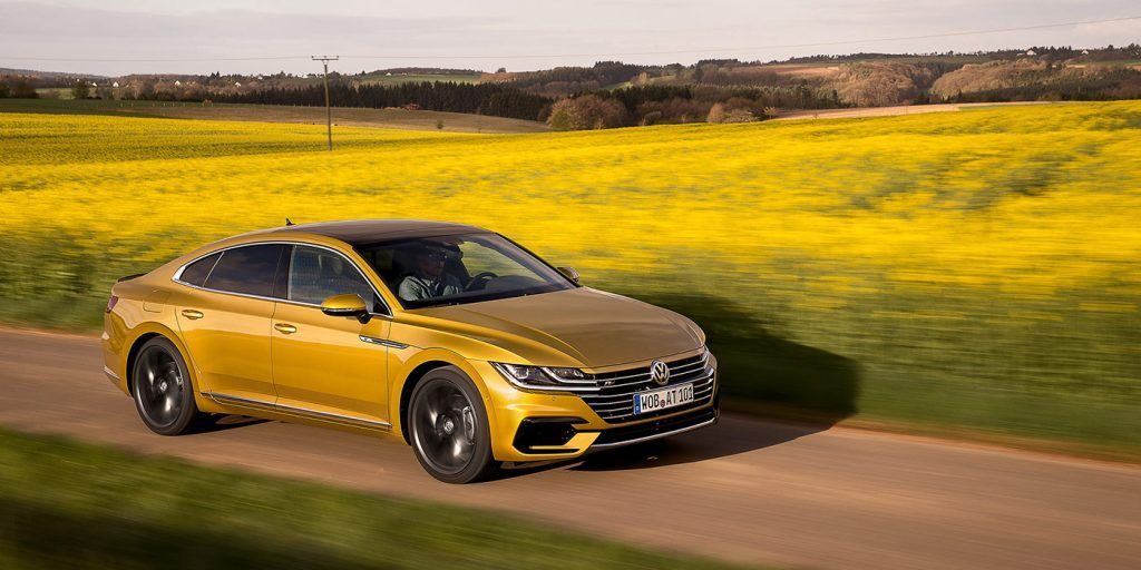 Лифтбек Volkswagen Arteon сертифицирован для России