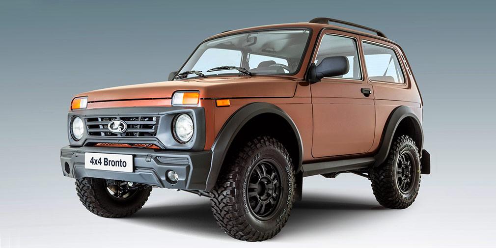 В России стартовали продажи внедорожной версии LADA 4x4 Bronto