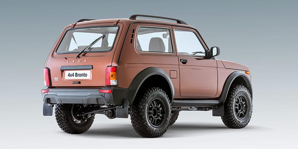 АвтоВАЗ объявил о старте продаж внедорожника LADA 4X4 в версии Bronto
