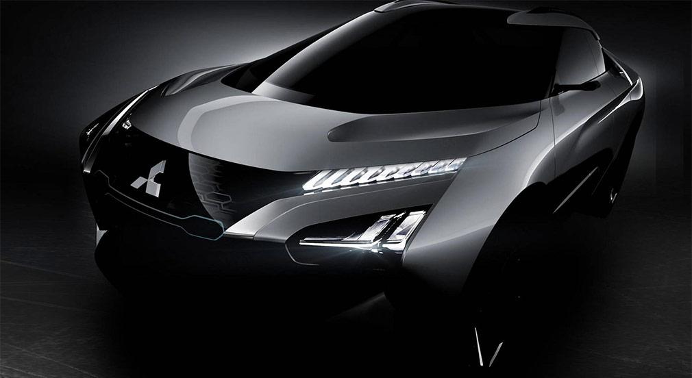 Mitsubishi показала дизайн нового кросс-купе Mitsubishi e-Evolution