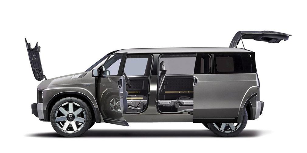 Toyota презентовала внедорожный фургон Toyota Tj Cruiser