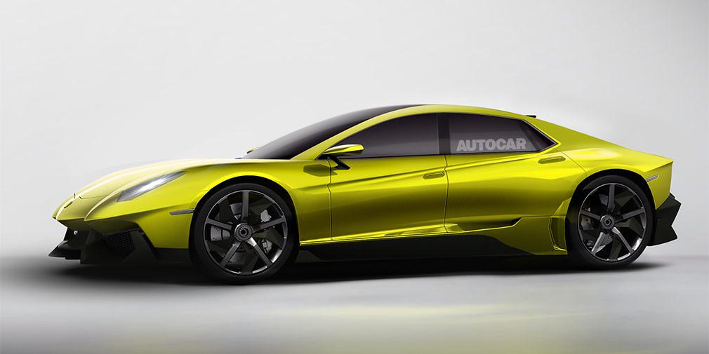 Lamborghini в 2021 году выпустит после Urus новую четырехдверную модель