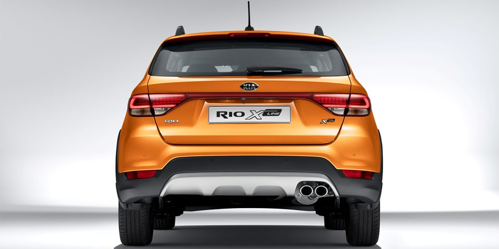 Kia представила «кросс-хэтчбек» Kia Rio для российского рынка