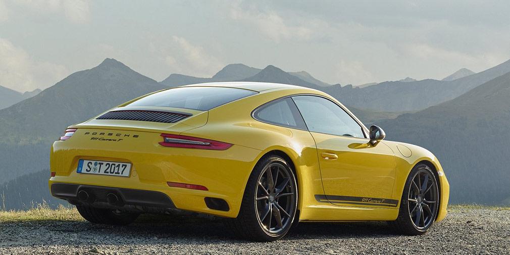 Porsche анонсировал линейку моделей 911 Carrera с новым индексом «Т»