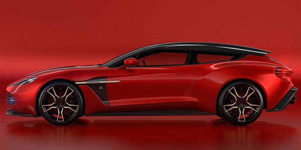 Aston Martin рассекретила спортивный универсал Vanquish Shooting Brake