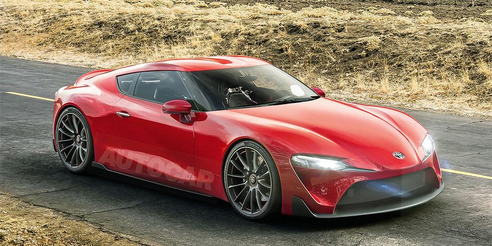 Toyota выпустит флагманский спорткар Toyota Supra в 2018 году