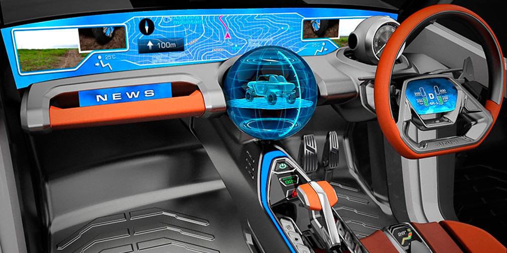 Suzuki презентовал внедорожник e-Survivor внедорожник с открытым верхом