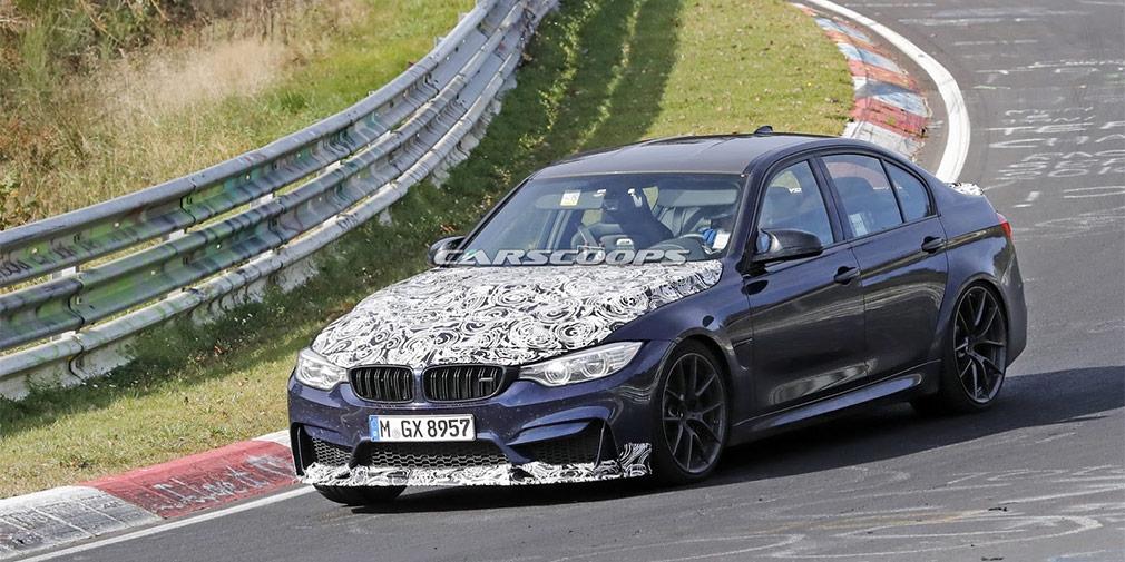 BMW приступила к тестам мощнейшего в истории седана BMW M3