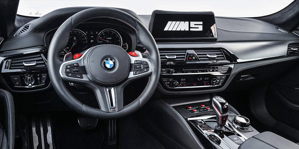 Новый седан BMW M5 превратили в автомобиль для мотогонок
