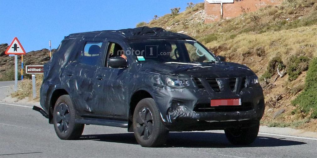 Nissan готовит к дебюту новый внедорожник Nissan Paladin на базе Navara