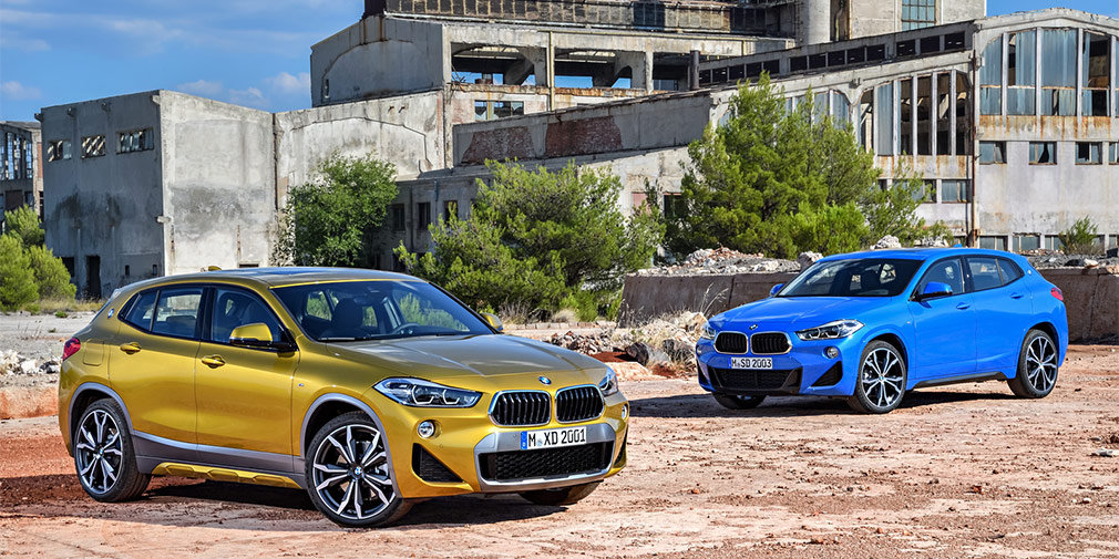 BMW объявила российские цены на кроссовер BMW X2