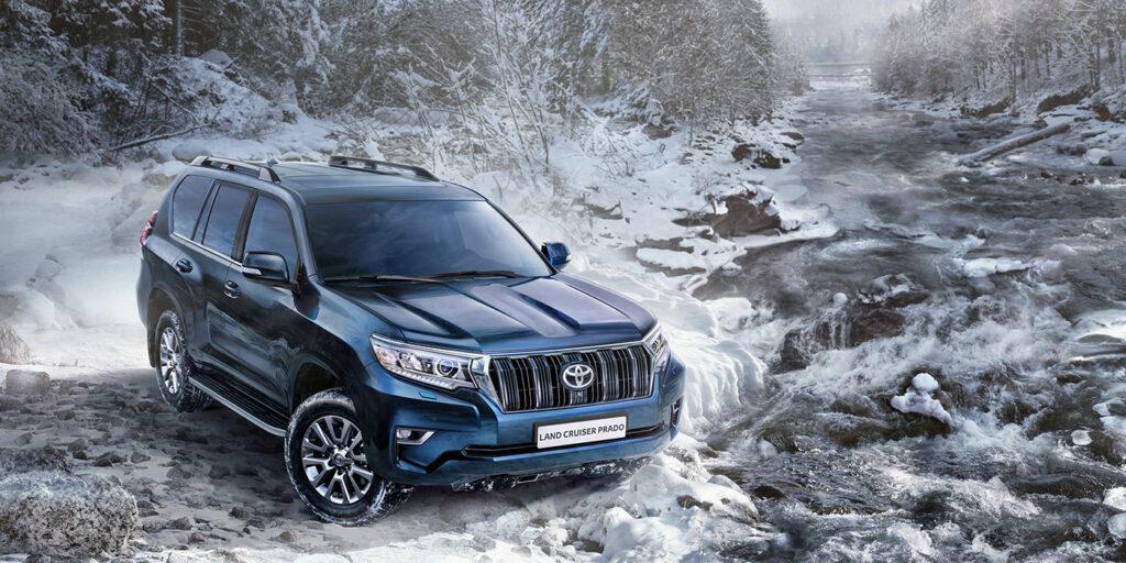 Toyota начала российские продажи обновленного Toyota Land Cruiser Prado