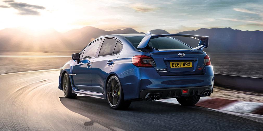 Компания Subaru выпустила прощальную версию седана WRX STi Final Edition
