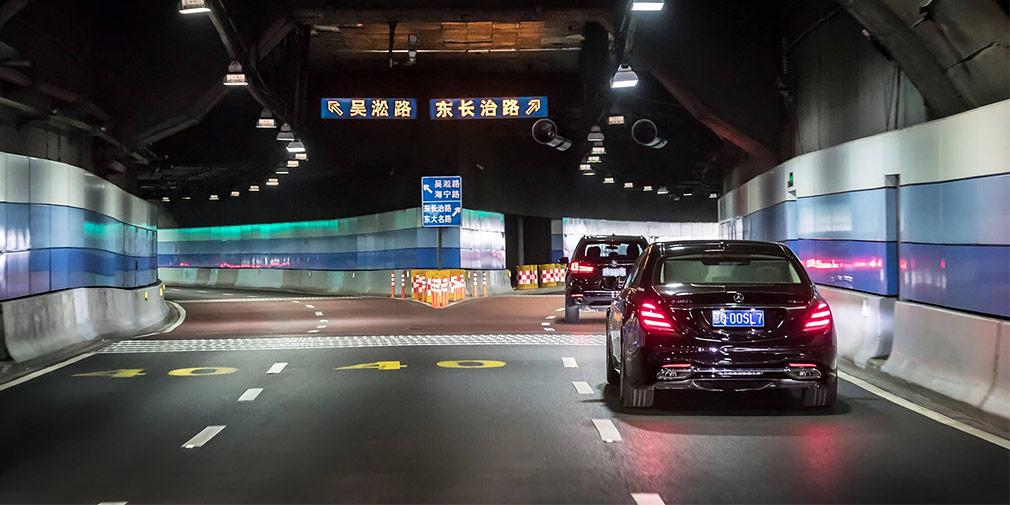 Mercedes-Benz начал тесты беспилотного Mercedes-Benz S‑Class в Шанхае