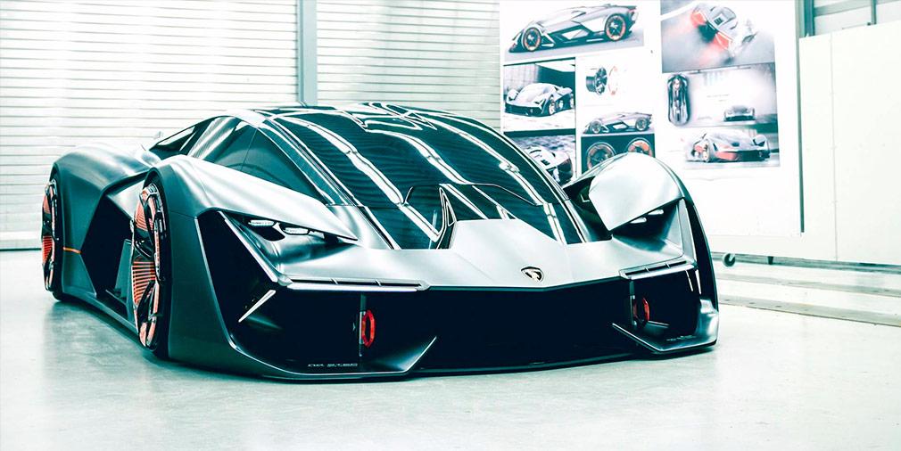 Lamborghini и MIT создали самовосстанавливающийся суперкар будущего