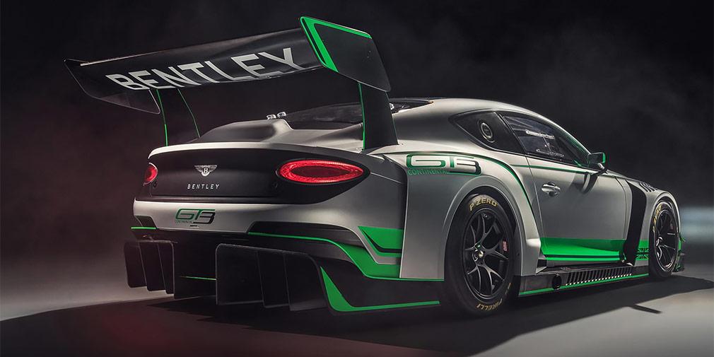 Bentley представила новое гоночное купе Continental GT