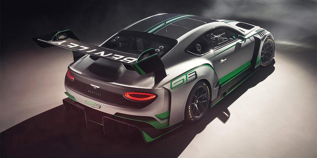 Компания Бентли гоночное купе континенталь GT3 обновленного поколения