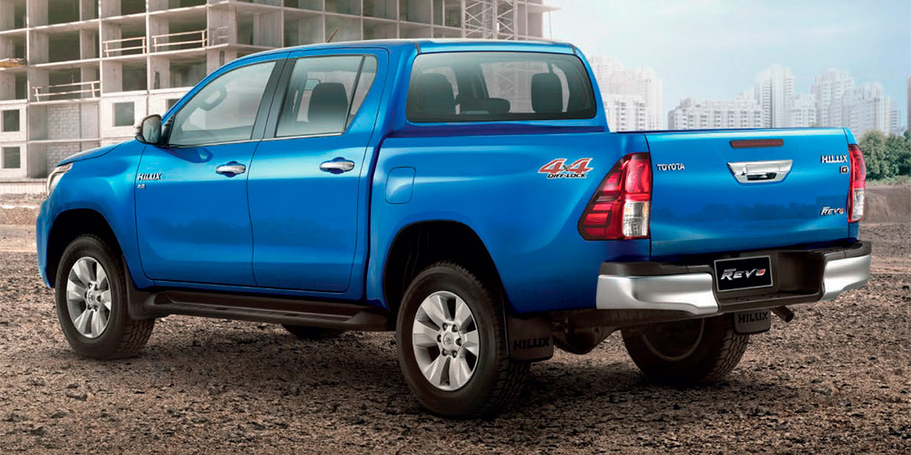 Toyota официально представила обновлённый пикап Toyota Hilux